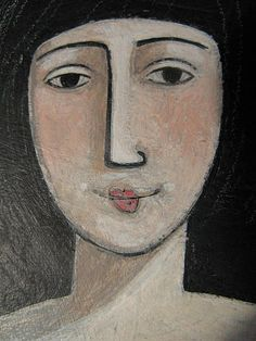 face # 3 by jamjarart, via Flickr