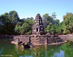 Neak Pean Temple. Angkor Complex, Siem Reap, Cambodia.