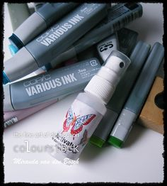 Copic Marker Europe: Various ink tutorial