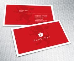 A Red Business Card Design. #businesscard #design $14.99