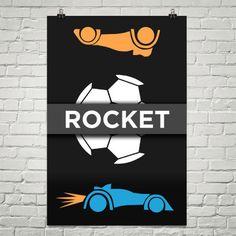 "Rocket League ""Rocket"" Poster"