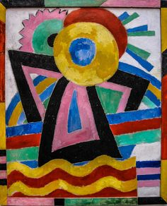 Marsden Hartley - Flower Abstraction, 1914 at Pennsylvania Academy of the Fine Arts - Philadelphia PA by mbell1975, via Flickr