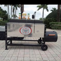 """The """"Caja China"""" is the bomb diggity. Now with a smoker, WHAT?"""