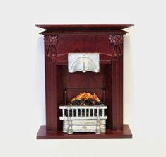 Chimenea. Medidas: 14 cm de alto x 12 cm de ancho #casasdemuñecas #miniaturas #miniatures #dollhouses #dollhouse #miniature https://www.tiendadecasitas.com/producto/10607/mb0651-chimenea