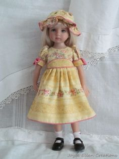 13-Effner-Little-Darling-BJD-fashion-French-country-OOAK-set-handmade-by-JEC. Ends 8/24/14. SOLD for $66.00