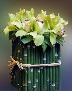 Arranjos Florais  - Orquídeas