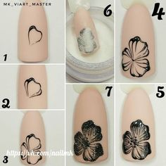 If you're looking to do seasonal nail art, spring is a great time to do so. The springtime is all about color, which means bright colors and pastels are becoming popular again for nail art. These types of colors allow you to create gorgeous nail art. Nail Art Diy, Easy Nail Art, Cool Nail Art, Diy Nails, Cute Nails, Pretty Nails, Easy Art, Nail Nail, Flower Nail Designs