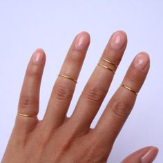 Midi Rings Boho Chic Jewelry Above Knuckle Ring by PricklyHearts