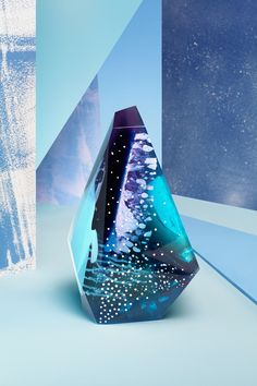 Samphire resin sculpture by Zuza Mengham for Laboratory Perfumes. Image: Ilka & Franz