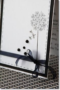 Sympathy Greetings, Handmade Greetings, Sympathy Cards, Karten Diy, Dandelion Wish, Making Greeting Cards, Stamping Up Cards, Happy Birthday Cards, Flower Cards