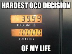 My OCD is being tested…