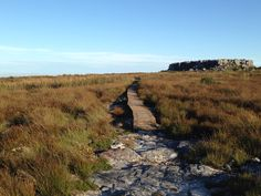 On top of Table Mountain... The pathway to Maclear's Beacon