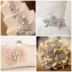 Glitz and Glam Wedding ideas - Add some glitz and glamour to your special day