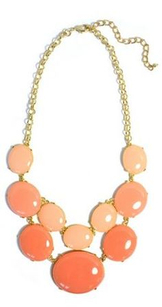 coral and peach, just picked this up at The Pink Hanger :)