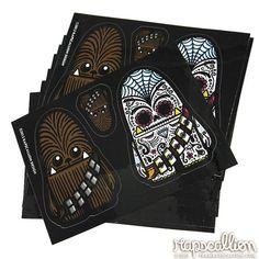 Chewbacca Inspired Sticker Sheet