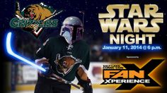 Join us this Saturday night for Utah Grizzlies' #StarWars Night: Skate with the team! Click source link for more info/tickets.