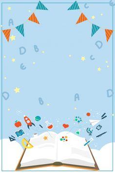 School Season School Starting School Student Back To School Paint Splash Background, Kids Background, Cartoon Background, Background Images, Powerpoint Background Design, Poster Background Design, School Cartoon, School Frame, Starting School