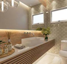 Bathroom Decor Tips Diy Interior, Interior Architecture, Interior Design, Wc Decoration, Wall Unit Designs, Small Toilet, Bathroom Renovations, Amazing Bathrooms, Modern Bathroom