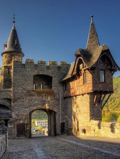 Trifels Castle in Palatinate, Germany