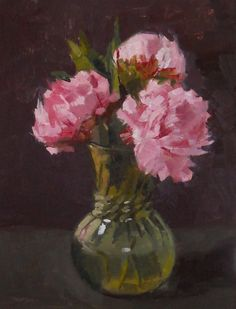 painted peonies - Google Search