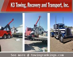 K3 Towing, Recovery and Transport, Inc., is a full service tow company that covers heavy, medium, light duty and flatbed service. See more @ http://www.towingrankings.com/k3-towing-recovery-transport-inc.html