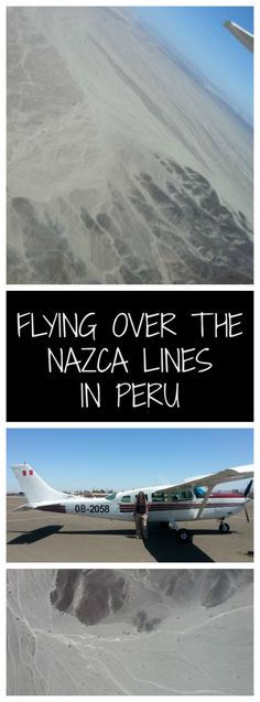 Flying over the Nazca Lines in Peru was on my bucket list for a long time!  Mystical markings in the desert of Peru that no one really knows why they are there.....  However, I didn't have the best time in Nasca!