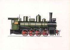 """Lokomotive OB 7024 (ca. 1900) Sie wurde von den Kommunisten des Moskauer Eisenbahndepots am ersten kommunistischen Subbotnik (12. April 1919) repariert und anschließend für die Beförderung von Truppenteilen der Roten Armee an die Wolga unter der Losung """"Koltschak den Tod!"""" eingesetzt. Auch im zweiten Weltkrieg war sie nochmals im Einsatz, der durch staatliche Auszeichnungen gewürdigt wurde."""