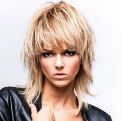 further Long Mullet Hairstyles Women moreover Rocker Hairstyles Long, Long Rocker Hair Styles Modern Shag Haircut, Long Shag Haircut, Short Shag Hairstyles, Rocker Hairstyles, Hairstyles 2018, 2018 Haircuts, Rocker Haircuts, Blonde Hairstyles, Girl Haircuts