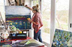 Lesley Seeger - painter