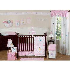Sweet Jojo Designs Ballerina Baby Bedding Collection