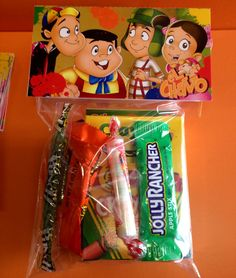 Hey, I found this really awesome Etsy listing at https://www.etsy.com/listing/188109170/el-chavo-del-ocho-candy-bag-toppers-loot