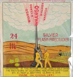 Superfine Flash Fireworks vintage labels - Design daily news