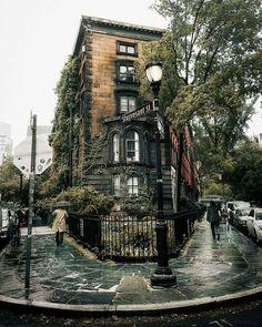 Stuyvesant St., East Village, Manhattan, NY New York Buildings, City Buildings, Streets Of New York, New York Street Art, City Streets, New York Architecture, New York Brownstone, New York Photography, House Photography