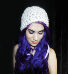 Quick Bulky Crochet Hat Pattern | CANDYPOW