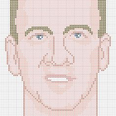 Knit a Peyton Manning pillow, you know you want to.  Free PDF Downloads. Cross Stitch, knit, crochet