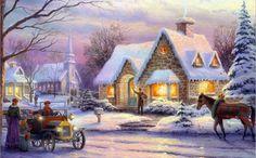Картинки по запросу christmas village