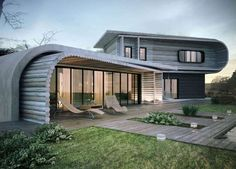 Have a look at multiple Modern Residential Architecture Design that will definitely boggle out your eyes. Know more about Residential Architecture Designs. Modern Residential Architecture, Architecture Résidentielle, Sustainable Architecture, Amazing Architecture, Wood House Design, Modern House Design, Home Design, Interior Design, Interior Ideas