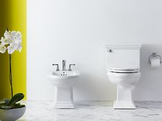 Memoirs Bidet, Plumbed for Vertical Spray Faucet | K-4886 | KOHLER