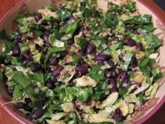 A Yummy Anti-Inflammatory Salad; www.thewellnesswife.com