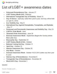 LETS GO THE DAY OF SILENCE IS IN MY BIRTH MONTH