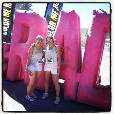 We did it- conquered Color Me Rad in Calgary! Course was challenging, up the ski hill at Canada Olympic Park & down the other side. Proud to say we completed out first 5k in 45 min.