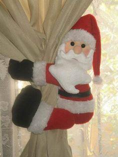 agarra cortinas navideñas - Buscar con Google