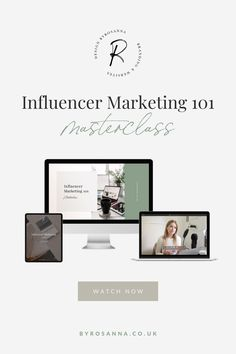 Learn the different ways you can work with influencers (whether that's Instagrammers, Bloggers, YouTubers etc.) to promote your products or services | #Influencermarketing #influencermarketingtips