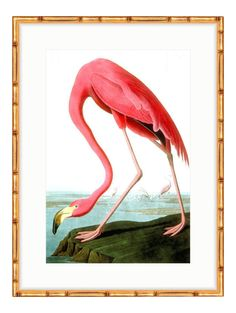 This archival giclée print of the original is beautifully set in a gold bamboo frame  $284