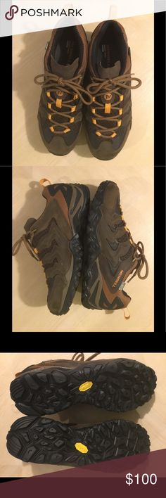 MEN'S Merrill Hiking Shoes Men's Waterproof Low Hiking Shoes. Air Cushion. SIZE 9. NWOT. Merrell Shoes