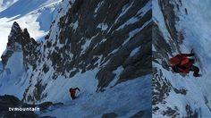 1er janvier 2015 Chamonix Mont-Blanc massif... Bonne année montagne à tous... Goulotte Lafaille Aiguilles du Diable Mont-Blanc du Tacul (descente en rappel après les 5 longueurs)... Superbe goulotte, 300 mètres, 80° max... Ouverte le 12 février 1985 par Jean-Christophe Lafaille... Merci à Morgan Baduel... Vidéo: http://www.tvmountain.com/video/alpinisme/10724-goulotte-lafaille-aiguilles-du-diable-mont-blanc-du-tacul-chamonix-mont-blanc-alpinisme.html