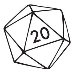 Image result for twenty sided dice tattoo