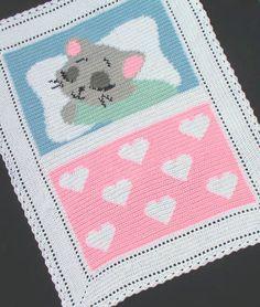 Crochet Patterns - SWEET DREAMS BABY KITTEN *EASY #KarensCradleCreations #Afghan