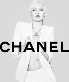 miley cryus Chanel ad blowing me away!
