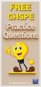 CHSPE Test Questions